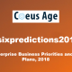 Six Predictions Banner